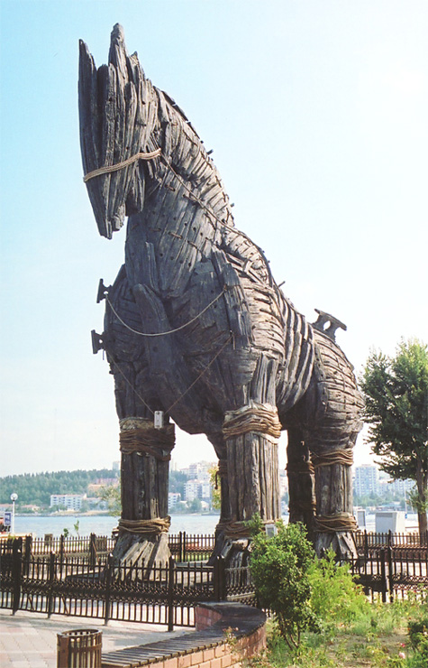The Horse from <em>Troy</em>