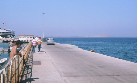Ferry to Bozcaada (Tenedos)