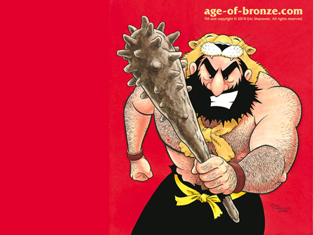Age of Bronze #3 Wallpaper Image